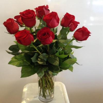 Bouquet de 12 roses