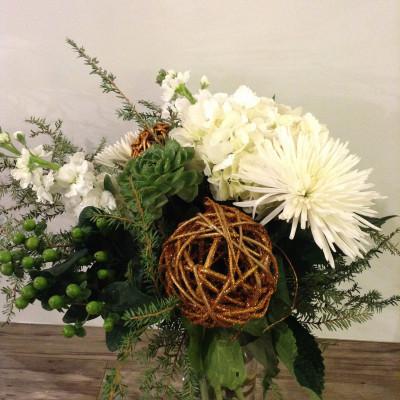 Bouquet rond des Fêtes