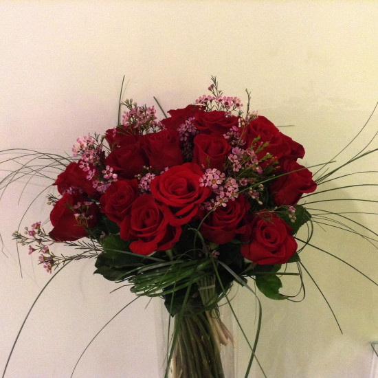 Bouquet de 24 roses