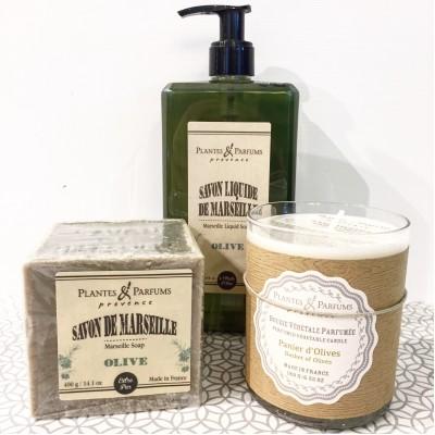 Ensemble cadeau Plantes & Parfums provence